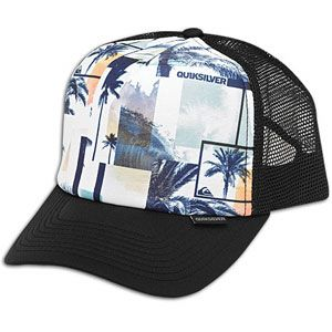 Quiksilver Boards Trucker Snapback Cap   Mens   Casual   Clothing