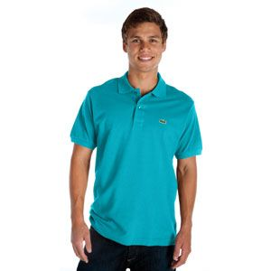 Lacoste Classic Pique Polo   Mens   Casual   Clothing   Turquoise