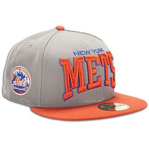 New Era MLB Pro Arch Cap   Mens   Baseball   Fan Gear   Mets   Storm