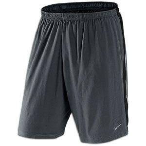 Nike 9 Stretch Woven Running Short   Mens   Anthracite/Black/White