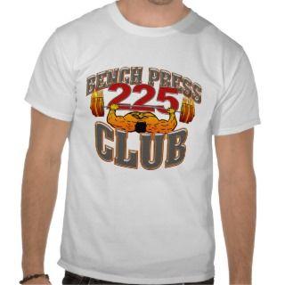 225 Club Bench Press Muscle / Tank Shirt