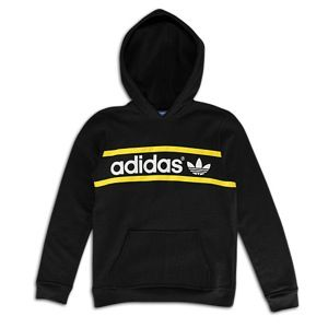 adidas Originals Heritage Logo Pullover Hoodie   Boys Grade School