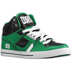 Osiris NYC 83 Vulc   Mens   Skate   Shoes   Green/Black/White
