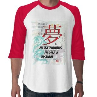 Midsummer Nights Dream    raglan Tee Shirt