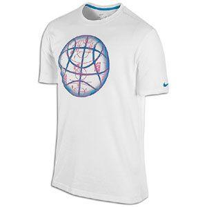 Nike Basketball T Shirts   Mens   Basketball   Clothing   White