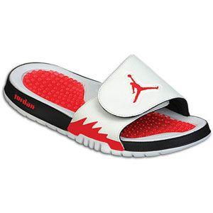 Jordan Hydro 5 Retro   Mens   Casual   Shoes   White/Fire Red/Black