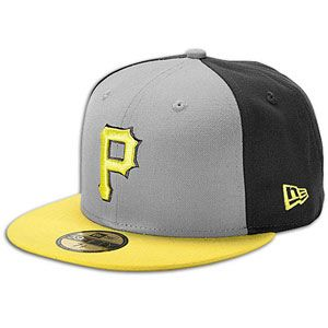 New Era MLB 59fifty Tri Pop Cap   Mens   Pittsburgh Pirates   Grey