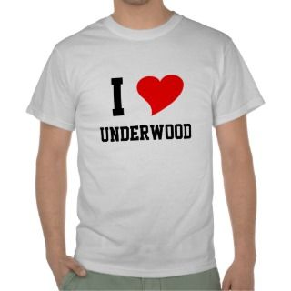 Underwood End is Nigh (white lettering) Tee Shirts