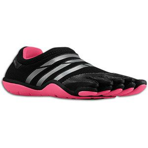 adidas adiPure Barefoot Trainer Mesh   Womens   Black/Metallic Silver