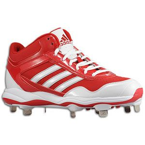 adidas Excelsior Pro Metal Mid   Mens   University Red/White/Metallic