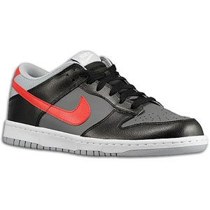Nike Dunk Low   Mens   Basketball   Shoes   Dark Grey/University Red