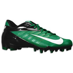 Nike Vapor Pro Low TD   Mens   Football   Shoes   Pine Green/White