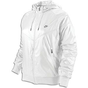 Nike Windrunner Jacket   Womens   Casual   Clothing   White/Cool Grey