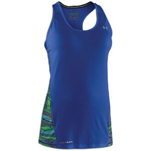 Under Armour W Coldblack Fragments Tank   Womens   Running   Clothing