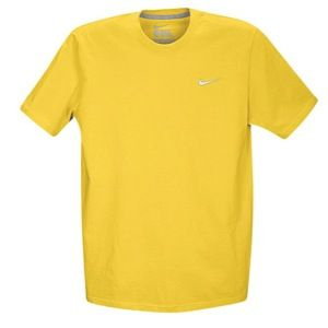 Nike Swoosh S/S T Shirt   Mens   Casual   Clothing   Vivid Sulfur