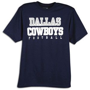 Nike NFL Authentic Logo T Shirt   Mens   Football   Fan Gear   Dallas