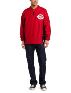 MLB Cincinnati Reds Long Sleeve Lightweight 1/4 Zip Gamer
