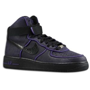 Nike Air Force 1 High   Mens   Basketball   Shoes   Black/Black/Court