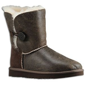 UGG Bailey Button   Womens   Casual   Shoes   Chocolate/Natural