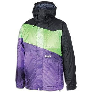 Volcom Mirror Jacket   Mens   Snow   Clothing   Black/Green/Purple