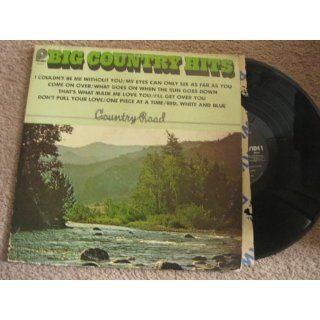 Big Country Hits Country Road Lp Vinyl Record Music