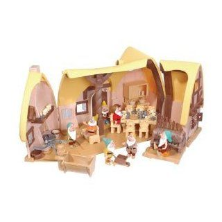 Disney Snow White and Seven Dwarfs Cottage Playset: Toys