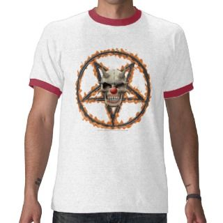 Evil Clown T shirts, Shirts and Custom Evil Clown Clothing