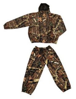 Toggs Camo Pro Action Rain Suit Gear Hunting Fishing Waterproof