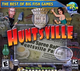 Mystery Case Files Huntsville New Vista Win 7 SEALED