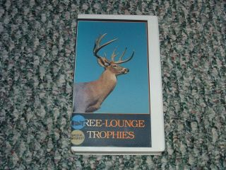 Tree Lounge Trophies VHS Tree Stands Deer Hunting RARE