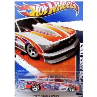 Wheels 2011 HW Drag Racers Chevy Pro Stock Truck #129: Toys & Games