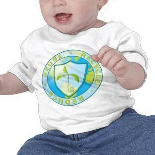 Recycle Reuse Reduce Design Tee Shirt