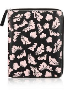 Diane von Furstenberg Floral print faux leather iPad case