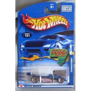 Hot Wheels 2002 Race Team Thunderstreak BLUE #131 Toys & Games