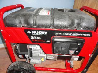 Husky 5000 Watt Generator