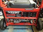 Husky HU5000 5 000 Watt Gasoline Powered Portable Generator