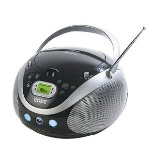 New COBY Portable AM/FM Radio  CD Full range stereo