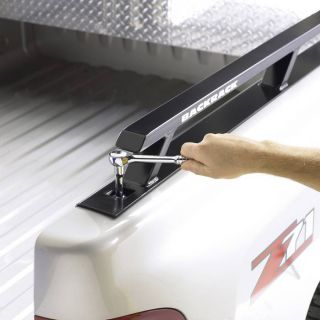 CLEARANCE Sale Backrack 65501TB Truck Bed Side Rail Rack SB