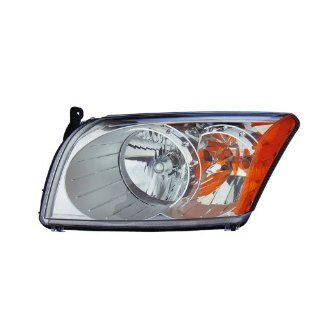 Dodge Caliber Headlight CAPA OE Style Replacement Headlamp Left Driver