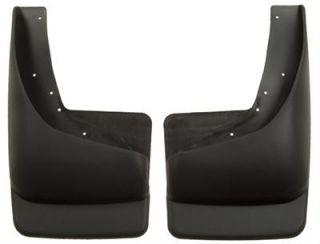 Husky Custom Molded Mud Flaps 57211 Black Rear Fits with OE Flares