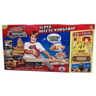 Super Deluxe Workshop ~ Includes 135+ Pieces Toys & Games