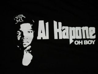 Al Kapone T Shirt Memphis CD Hustle Flow Rap Hip Hop Snoop Eminem Dre