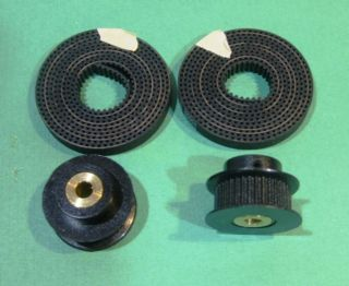 Timing Belt 2 Pulleys grubscrews for RepRap Prusa Mendel Huxley CNC