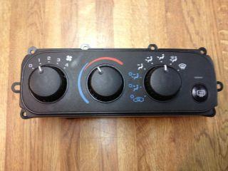 HVAC Controls Chrysler Sebring Dodge Stratus 2000 2001 2002 2003 2004