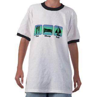 Coma la camiseta de la vela del sueño de