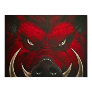 Mad Hog Razorback Posters