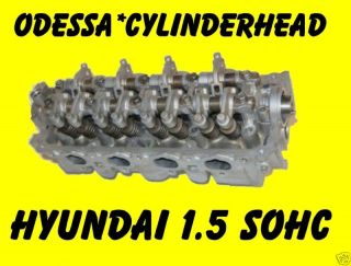 Hyundai Accent Scoupe 1 5 SOHC 12 Valve Cylinder Head