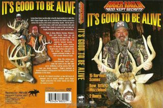Raglin Deer Hunting Best Kept Secrets Its Good to be Alive DVD NEW