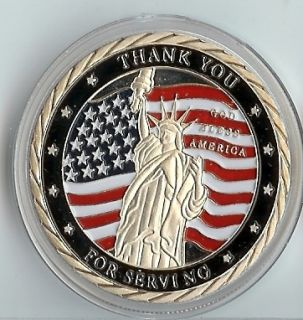 Thank You for Serving Silver Commemorative Coin Mint