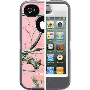 Brandnew Otterbox Case Defender with Real Tree Camo Cover for iPhone4